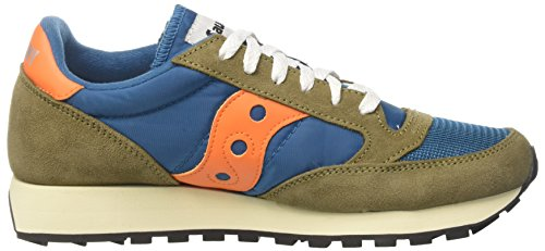 Saucony Unisex Adults' Jazz Original Vintage Tea/OLV S70368-14 Trainers Multicolour (Teal/Olive S70368-14) SGmLmpwS6
