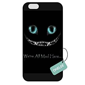 diy case - Customized Disney Alice in Wonderland iPhone 6 Plus 5.5 Hard Plastic case cover - Black 04 WANGJING JINDA
