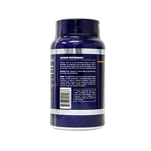GT Nutrition USA Hydrocrea Supplement, 60 Count