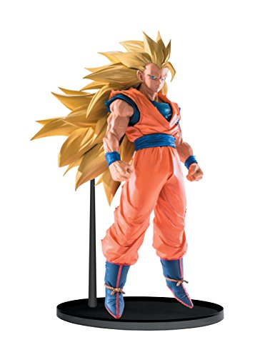Banpresto Dragon Ball Super Saiyan 3 Goku Sculptures Big Budoukai 6 Volume 5 Figure, 6.3""