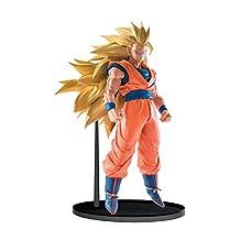 Banpresto Dragon Ball Super 6.3-Inch Super Saiyan 3 Goku Figure, Scultures Big Budoukai 6 Volume 5