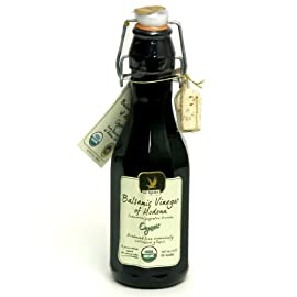 De Nigris Premium Organic Balsamic Vinegar of Modena - 250 mL 1 Organic Balsamic Vinegar of Modena made with 55% Grape Must Certified organic Non-GMO