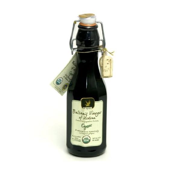 De Nigris Premium Organic Balsamic Vinegar of Modena - 1/250ML 1 Organic Balsamic Vinegar of Modena made with 55% Grape Must Certified organic Non-GMO