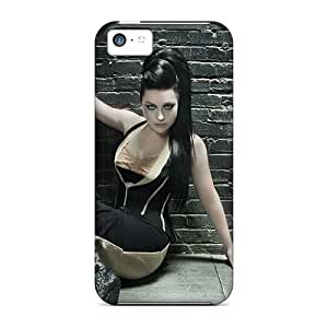 Scratch Protection Hard Phone Cover For Iphone 5c (Atq13zkMB) Support Personal Customs Lifelike Evanescence Band Series