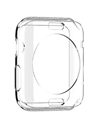 Spigen Liquid Crystal Apple Watch 42mm Case with Slim Protection and Premium Clarity for Apple Watch 42mm 2015 - Crystal Clear