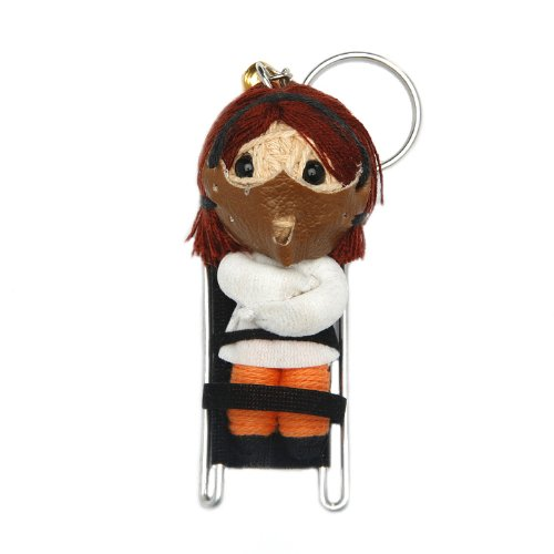 Hannibal Lecter Voodoo String Doll Keychain