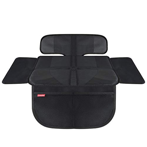 HerzensKind Premium Car Seat Cover Short, Perfect Protection for Your Car Seats, Child Seat Pad for Textile and Leather Seats, Suitable for ISOFIX: Amazon.co.uk: Baby
