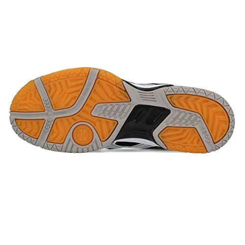 Course pour 6 de Asics Chaussures Homme Argent Noir Gel Rocket wPqXPARfU