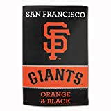 "Master Industries San Francisco Giants Sublimated Cotton Towel- 16"" x 25"""