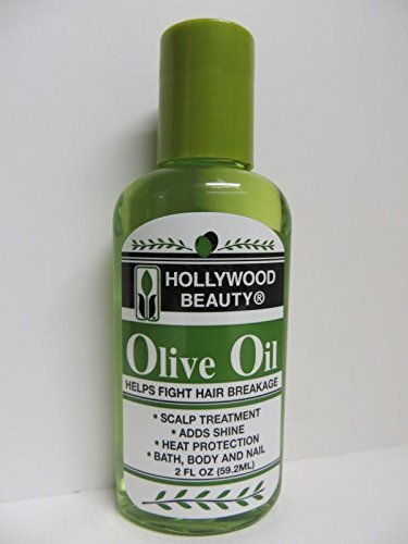 Hollywood Beauty Olive Oil Skin - Scalp Treatment, 2 Oz