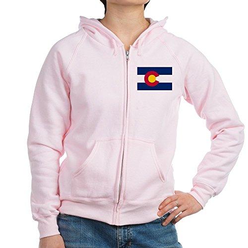CafePress - Colorado - Womens Zip Hoodie, Classic Hooded Sweatshirt with Metal (Colorado Womens Zip Hoodie)