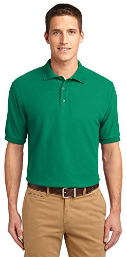 Port Authority Tall Silk Touch Polo  Kelly Green  Xx Large Tall