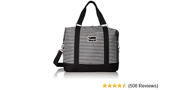 Polka/_dots Travel Carry-on Luggage Weekender Bag Overnight Tote Flight Duffel In Trolley Handle