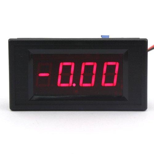 DROK 0.5 0-20.0mA Milliamp Meter Panel Ampere meter Red LED Tester Electrical Current Measure