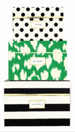 Merveilleux Kate Spade New York, Storage Boxes, Neon Pack Of 1