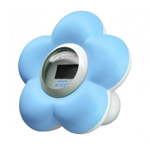 Blue Flower Bath & Room Thermometer by PHILIPS SpA