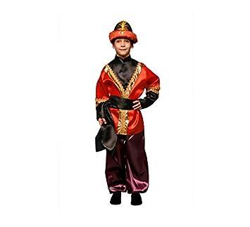Disfraz de Paje rojo barato en varias tallas para niño: Amazon.es ...