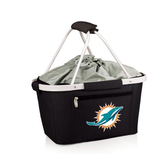 NFL Miami Dolphins Metro Insulated Basket, Black