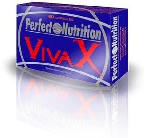 Perfect Nutrition Vivax, Suplementos para Deportistas, Testosterona - 60 Cápsulas: Amazon.es: Salud y cuidado personal