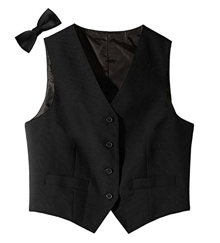 Tuxedo Vest and Matching Bowtie for Women - X-Large for sale  Delivered anywhere in USA