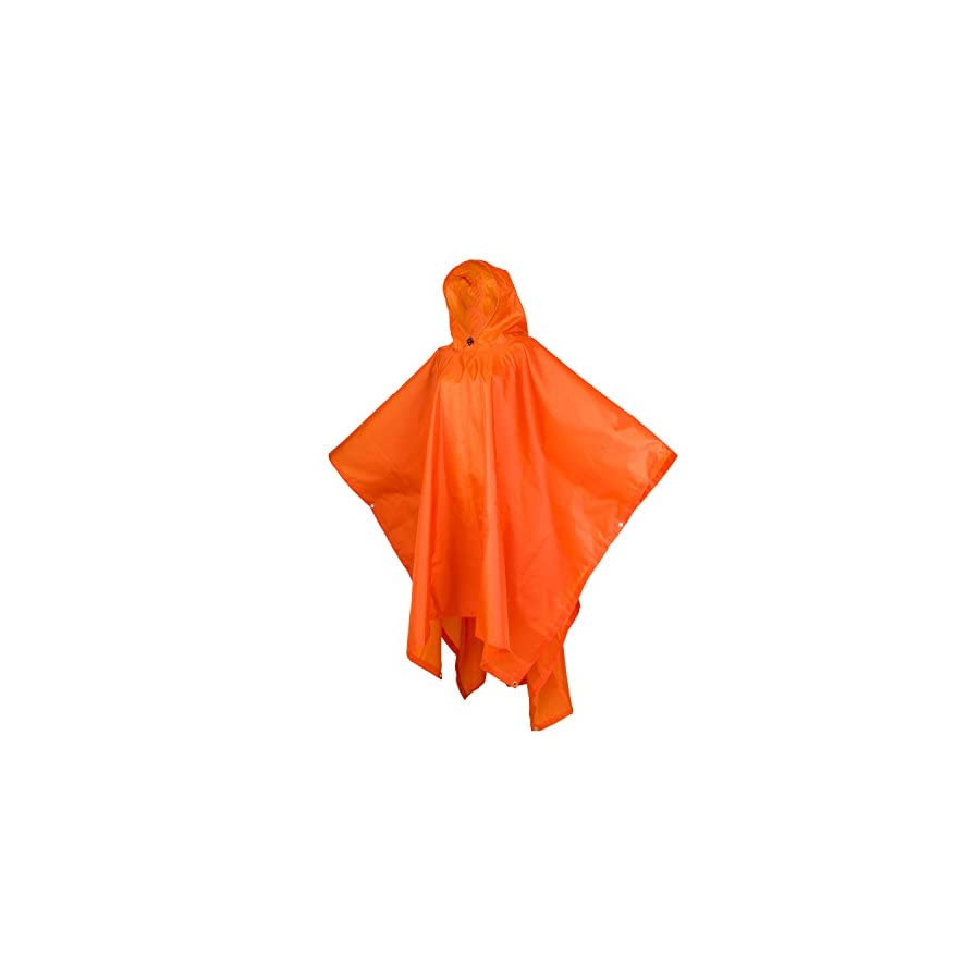 Rain Poncho for Adults outdoor blanket Emergency Shelter 3 in 1 Raincoat for Hiking, Backpacking, Camping or Traveling