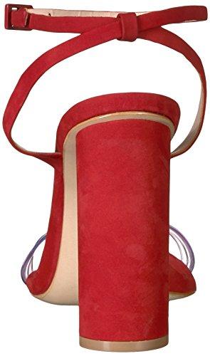Geisy Rosso Tango Tacco Schutz Delle Donne Sandalo 10O7zxwxq