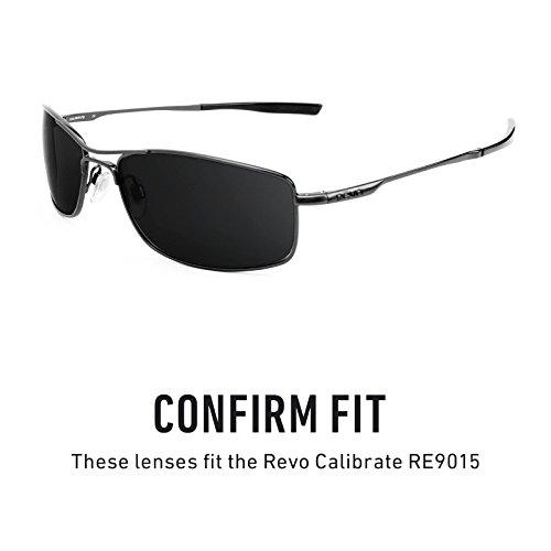 Verres de rechange pour Revo Calibrate RE9015 — Plusieurs options Titanium MirrorShield® - Polarisés