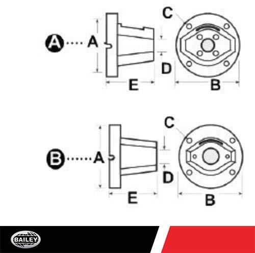 Electric Motor Mounting Bracket: 2.828'' Bolt Circles, 4-Bolt Flange, 56C-145C TC Frame 4.40