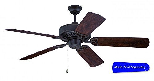 Craftmade AT52AG 52-Inch American Tradition Ceiling Fan, Aged Bronze