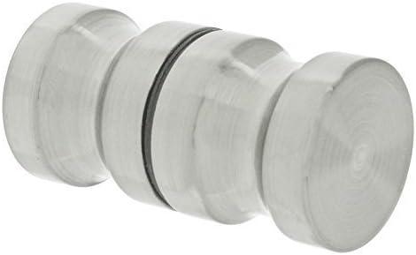 First4spares para cama individual de pomos para mampara de ducha de (inoxidable satinado, 30 mm): Amazon.es: Hogar