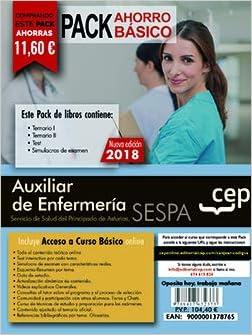 PACK AHORRO BASICO. Auxiliar de Enfermería del Servicio de Salud del Principado de Asturias. SESPA. Incluye Temarios Vol. I, II, Test y Simulacros: Amazon.es: Vv.Aa, Vv.Aa: Libros