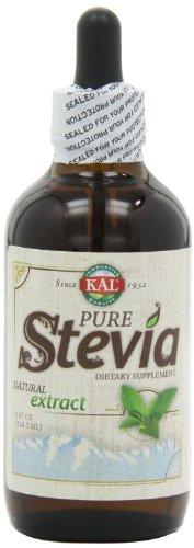 KAL Pure Стевия жидкого экстракта - 4 Oz - Liquid (в упаковке 3)