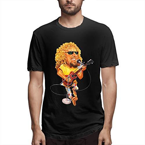 Troom Hagar Sammy Van-Halen Men Sport Shirt XXL Black