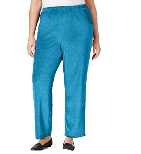 Embellished Velour Pant - 3