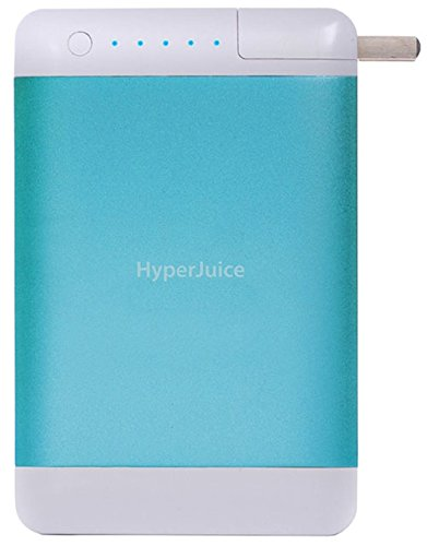 HyperJuice Plug External Battery - Battery - Retail Packaging - Blue by HyperJuice