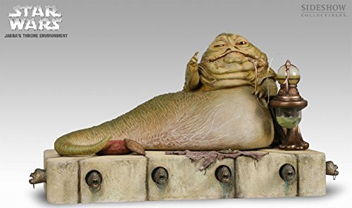 - Star Wars: Jabba the Hutt 12-Inch Figure with Jabba's Throne Environment by Sideshow Collectibles