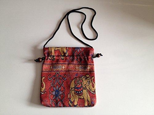 Price comparison product image Thaienjoy - Cotton Bags Elephant 23x20 cm.