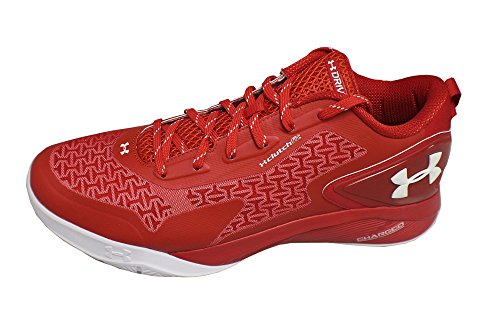 Under Armour TB Drive Low 2 Men US 14 Red Sneakers Drive Cross Trainers