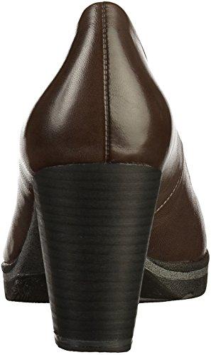 Marco Tozzi Con De Cerrada Punta 2 Zapatos 22419 Cuero Mujer Tacón Gris 2 21 Srqd4fwrx