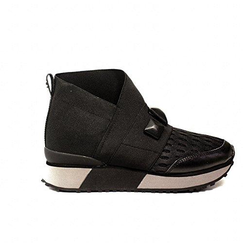 ApepazzaRSD09 Elastic Black Sneakers Winter Collection 2017 2018 (39)