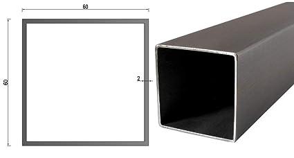 Tubo cuadrado de acero inoxidable/tubo rectangular/perfil de ...