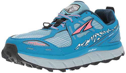Altra Women's Lone Peak 3.5 Running Shoe, Blue, 7 B US