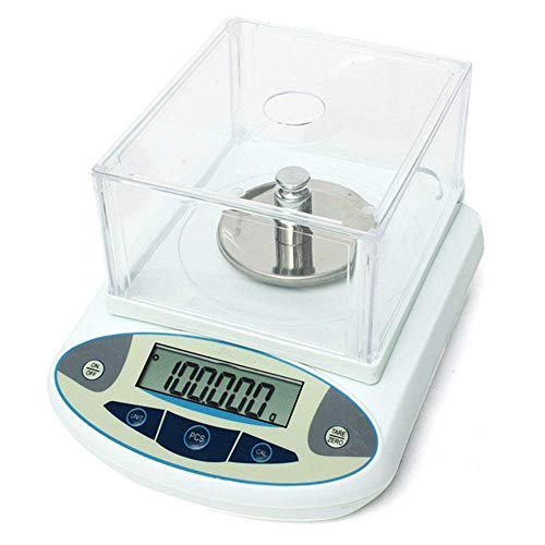 High Precision Lab Digital Precision Analytical Balance Lab Scale 1mg Precision Electronic Balance Jewelry Scales Kitchen Precision Weighing Electronic Scale Calibrated & Ready to use (500g, 0.001g)