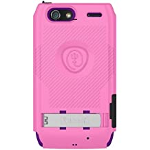 Trident Build Your Own KRAKEN A.M.S. Case for Droid Razr Maxx - Retail Packaging - Pink/Purple