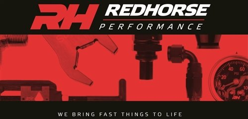 Red Horse Performance 200-06-50 Double Braided Premium Hose by Red Horse Performance
