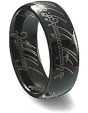 خاتم لورد أوف ذا رنجز مصنوع من الستينلس ستيل