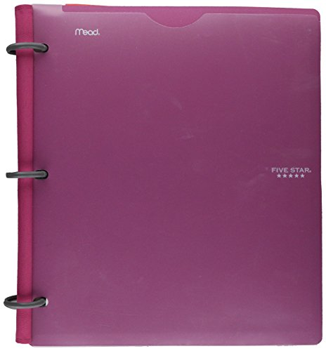 - Five Star Flex Hybrid NoteBinder, 1 Inch, Customizable Cover, Color Will Vary (29176)