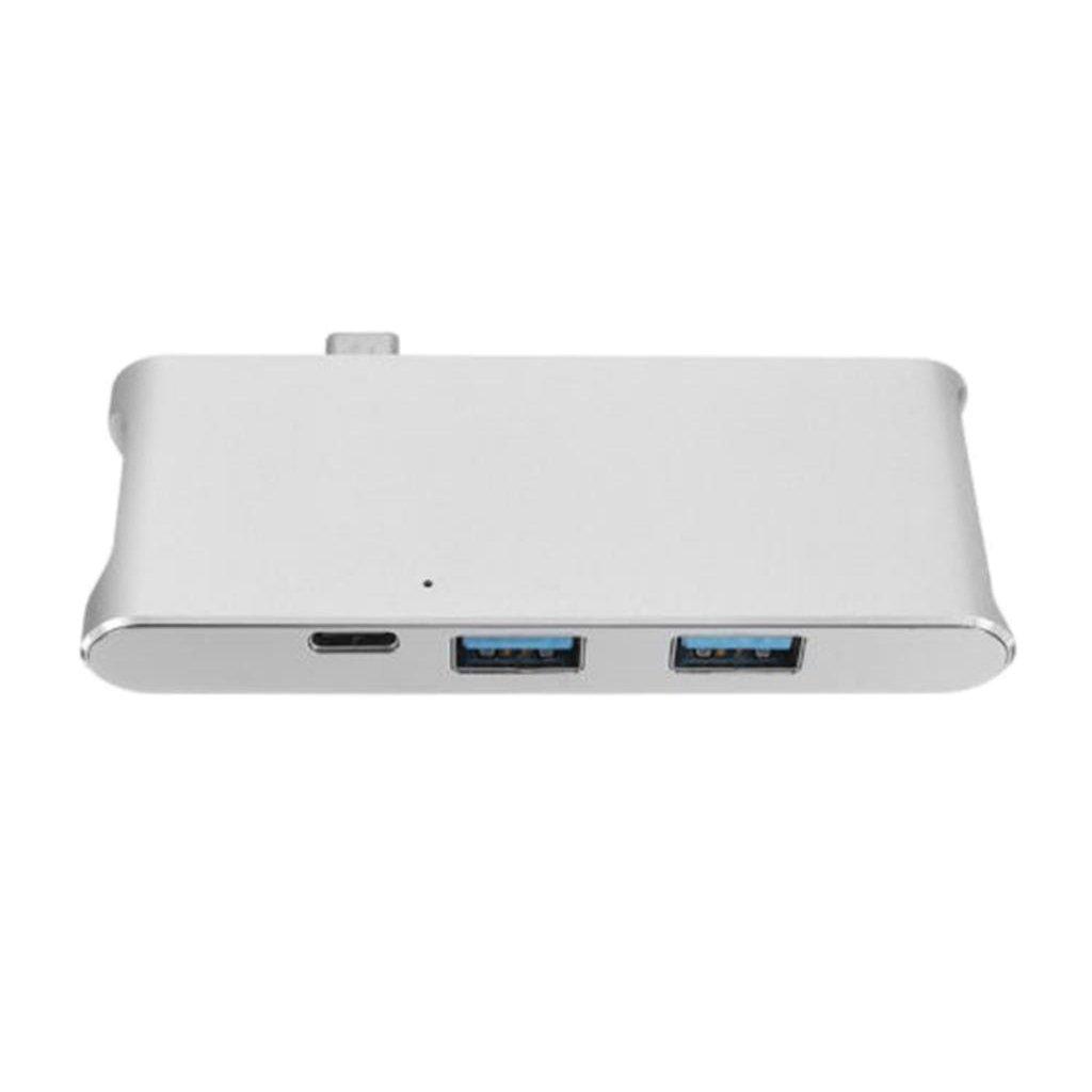 gazechimp 7 in 1 USB 3.0 Type-C Hub to HDMI 4K USB 3.0 Memory Card Reader for MacBook