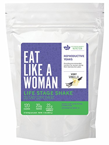 Life Stage Shake® Vanilla, Reproductive Years, All-In-One...