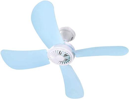 Fan Fan Ventilador de Techo pequeño de Cuatro Hojas, Mini ...
